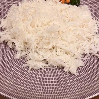 インドのお米 バスマティライスを鍋で炊く!