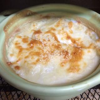 ホワイトソース不要★じゃがいも豆乳グラタン