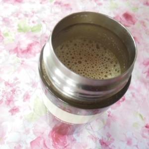 【ココナッツオイル】ココナッツ風味のホット豆乳ラテ