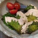 紫蘇香る☆鶏むね肉の青じそ焼き