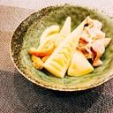 豚バラとたけのこの煮物(^^)