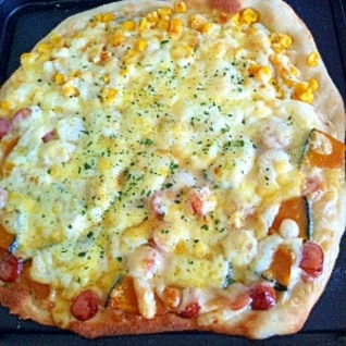 簡単☆節約 手作りクリスピーピザ