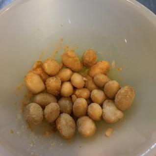 超簡単離乳食幼児食おやつ 大豆のきなこ和え