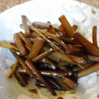 ツワブキの佃煮