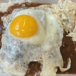 オリジナルソースで☆ロコモコ丼