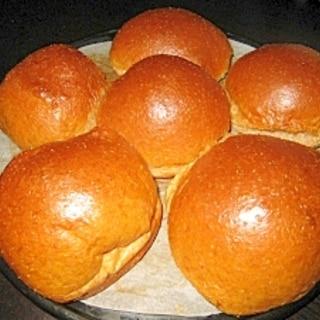 低糖質!HBでこねる…小麦ふすまと大豆粉の丸パン