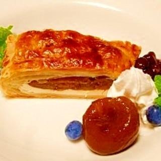 イチジクとクリームチーズ☆パイ