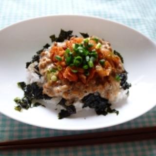 【栄養美人肌】韓国風キムチ納豆