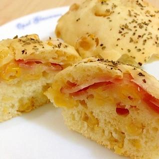 ホットケーキミックスで!簡単コーンパン☆