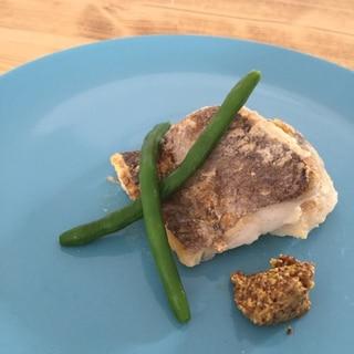 オーブンで簡単♪白身魚のムニエル