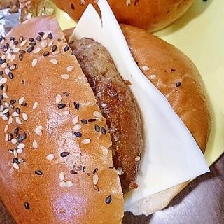 ピリ辛チーズハンバーガー