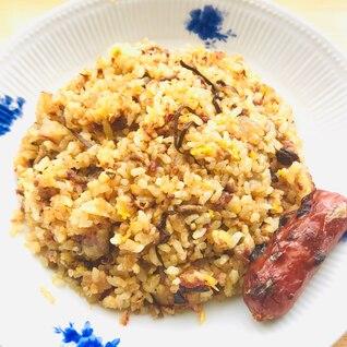 【男子節約】ひき肉たっぷりガッツリ炒飯