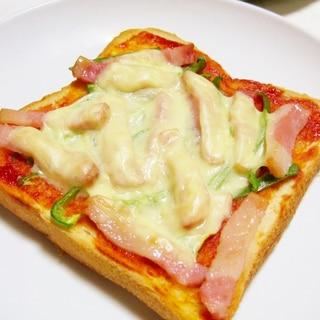 簡単☆ピザ風トースト