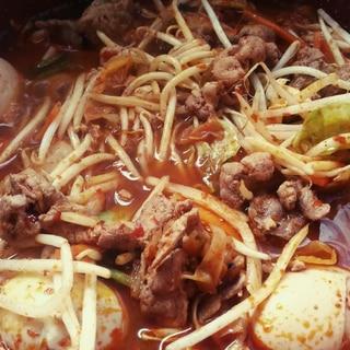 激辛キムチ鍋