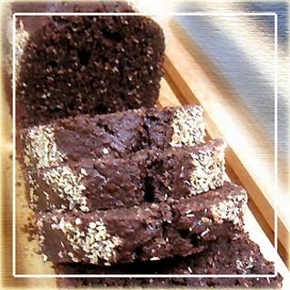 簡単★チョコ&ココナッツ☆パウンドケーキ