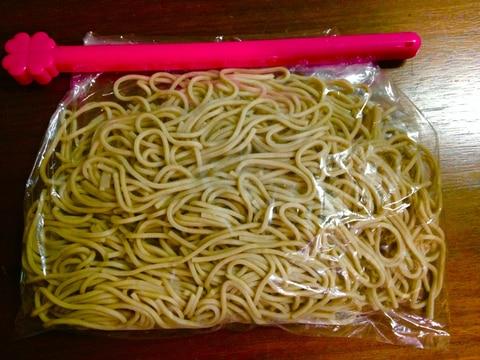 余った蕎麦の保存方法☆☆