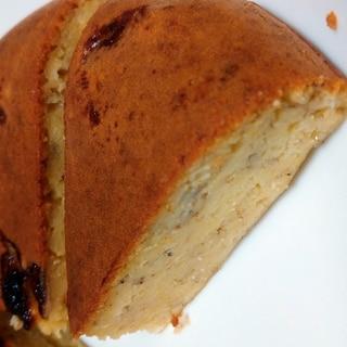 ホットケーキミックスで簡単★炊飯器でバナナケーキ