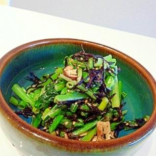 青菜とヒジキのマヨポン和え☆