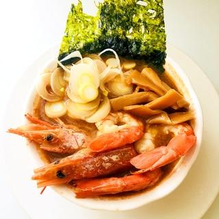 簡単で美味しすぎる!スープ飲み干す海老ラーメン