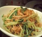 水菜と切り干し大根の炒め煮