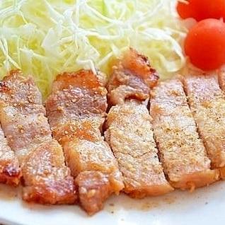 豚肉の味噌漬け*オーブン焼き
