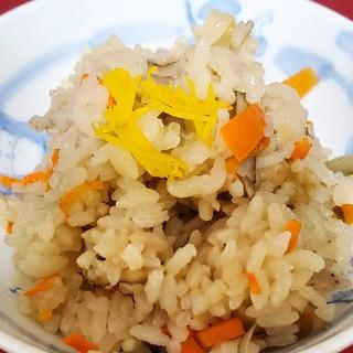 鶏ごぼうご飯