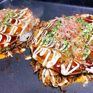 ♡家族でワイワイ♪簡単美味しい広島風お好み焼き♡