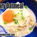 おいしいオートミールの食べ方。卵がけオートミール