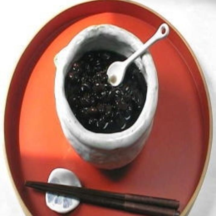 基本の黒豆の煮豆