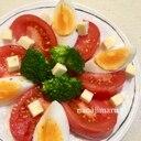 母の日に☆真っ赤なトマトで華やかサラダ