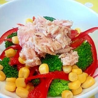 ブロッコリー&ツナのサラダ