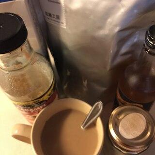 低糖ホワイトチョコとキャラメル コーヒー