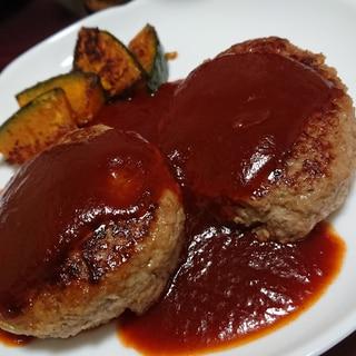 ダイエットメニュー 粉末高野豆腐ハンバーグ