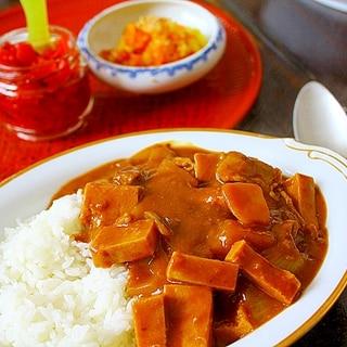 牛肉と高野豆腐のカレー*簡単