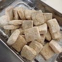 【お菓子】スノーキューブ❄︎* きな粉&クルミ味