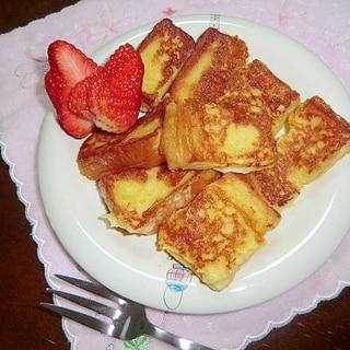 ヘルシー♪豆乳deフレンチトースト