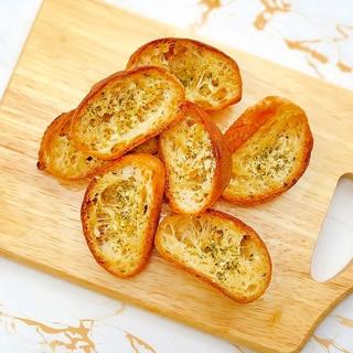 発酵なし!簡単な低糖質パンでガーリックトースト