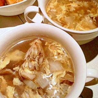 ダシダで簡単♥韓国風スープ♪