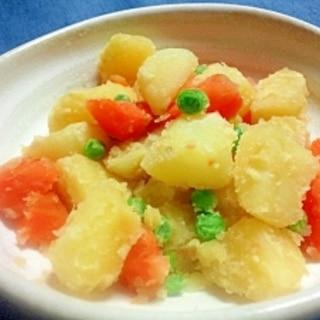 ポテトと人参のブイヨン味粉ふき