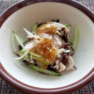 おいしく簡単!手作り棒棒鶏(バンバンジー)サラダ