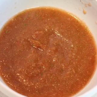 ガスパチョ風トマトの冷製スープ