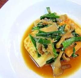 ウマく焼けます♪クックシート DE 豆腐ステーキ