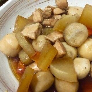 里芋と大根の煮物
