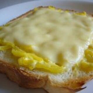 焼きサラダチーズパン☆