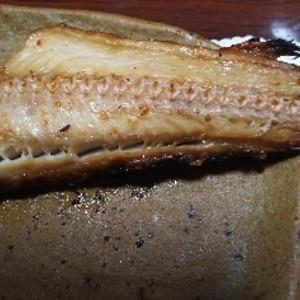 ホッケのみりん・醤油漬け焼き(おろし添え)