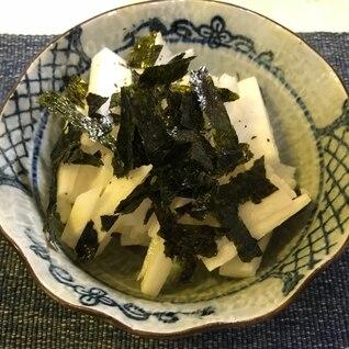 長芋の短冊☆わさび醤油で!