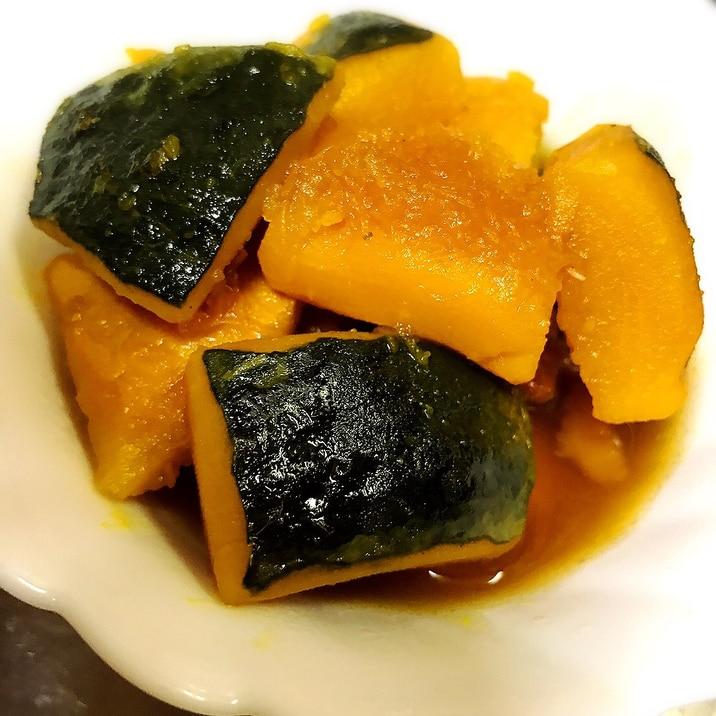 時短☆レンジでかぼちゃの煮物