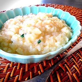 豆乳鍋の残り雑炊♡