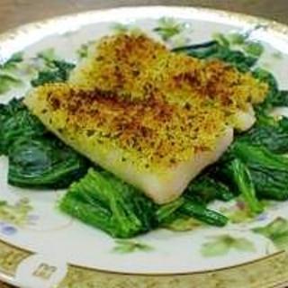 簡単に本格的な☆魚の香草パン粉焼き