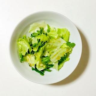 簡単グリーンサラダ